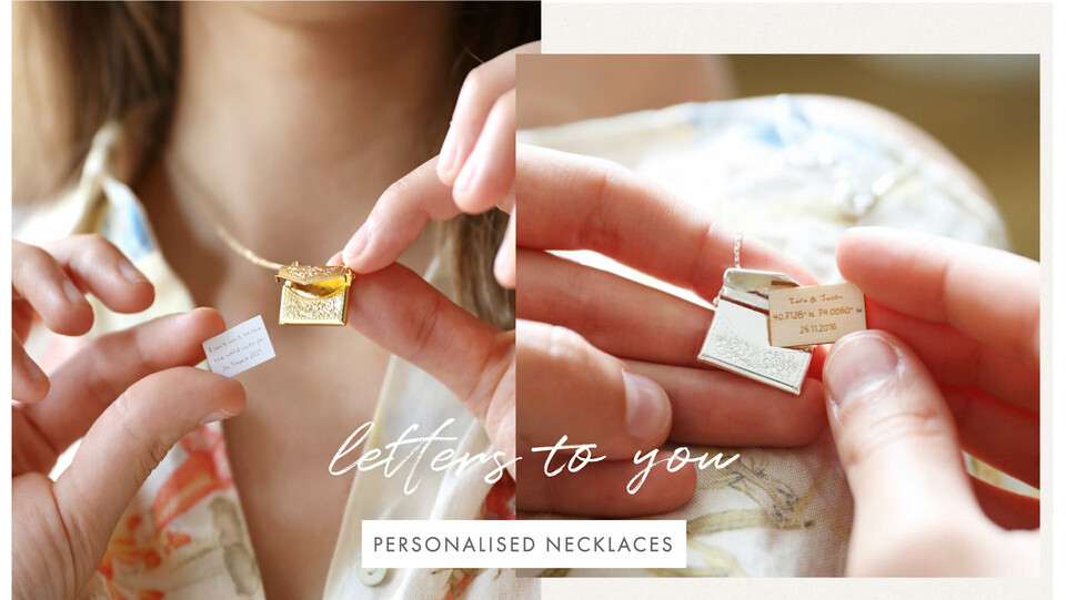 Personalised necklaces - Shop personalised necklaces >>