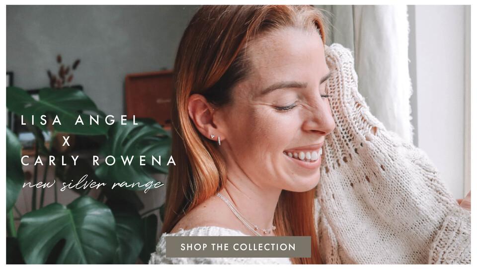Lisa Angel x Carly Rowena jewellery range - Shop Carly Rowena jewellery >>