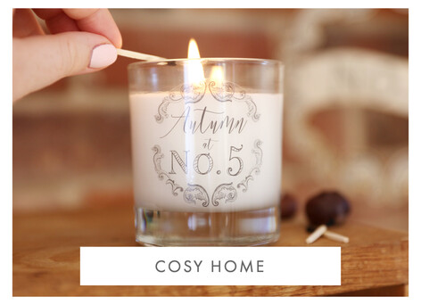 Cosy home accessories - Shop homeware >>