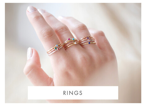 Stacking rings - Shop rings >>