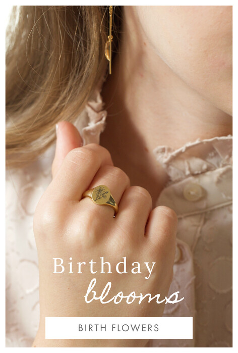 Birth flower gifts - Shop birth flower jewellery, accessories and homeware >>