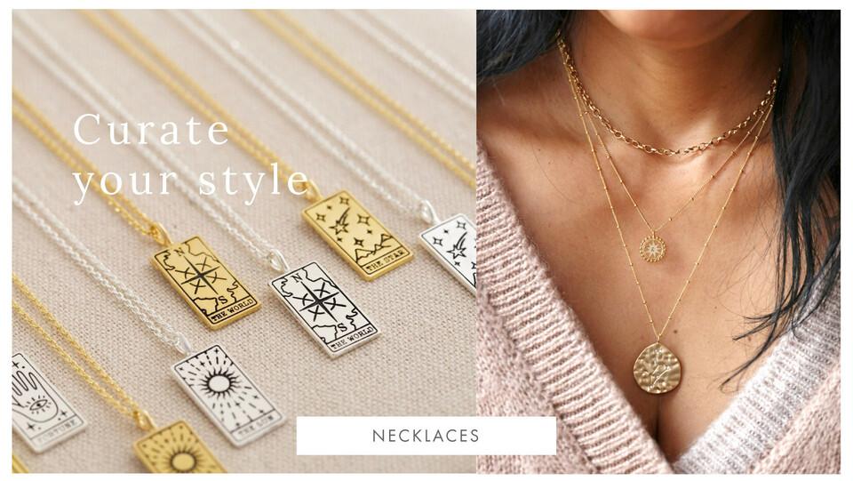 Women's necklaces - Shop women's necklaces >>