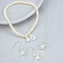 Personalised Songbird Jewellery Set