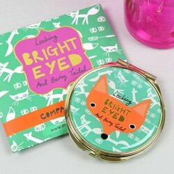 Disaster Designs 'Daydream' Fox Compact Mirror