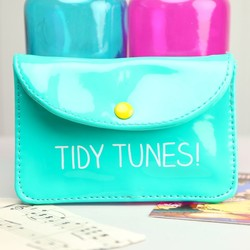 Happy Jackson 'Tidy Tunes' Earphone Case