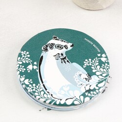 Disaster Design  Nordikka Fox and Badger Compact Mirror