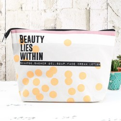 Disaster Designs Arm Candy 'Beauty Lies Within' Wash Bag