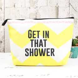 Disaster Designs Arm Candy 'Get In That Shower' Wash Bag