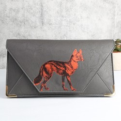 Disaster Designs Heritage and Harlequin Fox Travel Wallet