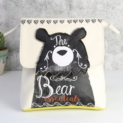 Disaster Designs Penny Black Bear Make Up Bag