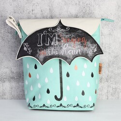 Disaster Designs Penny Black Wash Bag