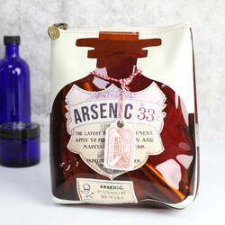 Disaster Designs Apothecary Arsenic Make Up Bag