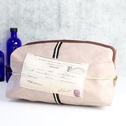 Disaster Designs Apothecary Moustache Wash Bag