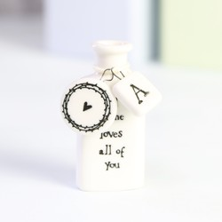 East of India 'All of Me Loves All of You' Miniature Apothecary Bottle