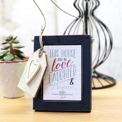 East of India Small 'Love, Laughter & Prosecco' Sign