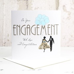 Five Dollar Shake 'On Your Engagement' Card