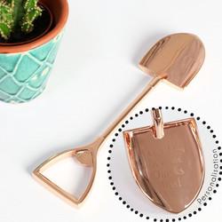 Personalised Copper Shovel Bottle Opener