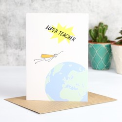 'Super Teacher' Card