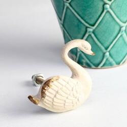 Swan Drawer Knob