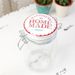 Sass & Belle Happiness is Homemade Mason Jar