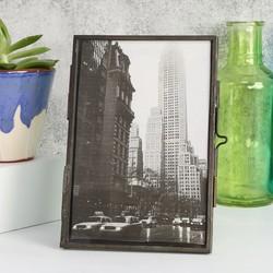 "Temerity Jones Retro Glass Photo Frame - 5"" x 7"""