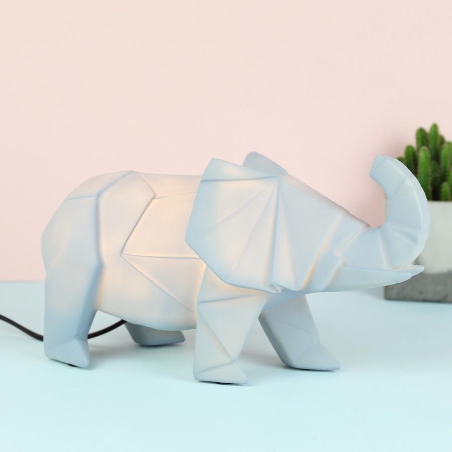 Disaster designs origami elephant night light lisa angel jeuxipadfo Choice Image