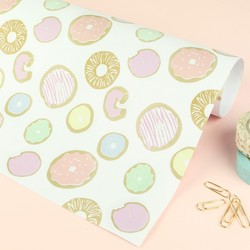 Doughnut Print Wrapping Paper