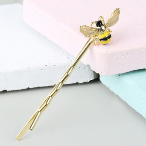Bumble Bee Gold Hairslide
