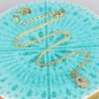 Handmade Gold Hamsa Hand Necklace