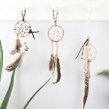 Boho Feather Dreamcatcher