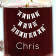 Lisa Angel Machine Engraved Personalised 'Happy 18th Birthday' Mason Jar