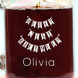 Lisa Angel Machine Engraved Personalised 'Happy 21st Birthday' Mason Jar