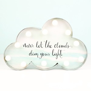 Industrial LED Cloud Quote Light