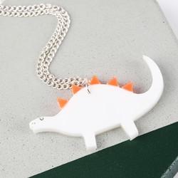 Meri Meri Acrylic Dinosaur Necklace