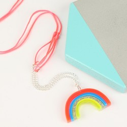 Meri Meri Acrylic Rainbow Necklace