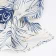 Lisa Angel Personalised Peacock Feather Cotton Scarf