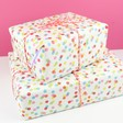 Lisa Angel Coloured Confetti Wrapping Paper