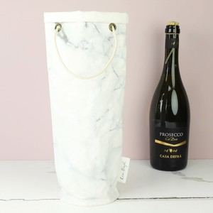 Marble Round Bottle Bag