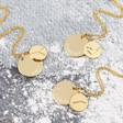 Lisa Angel Personalised Gold Constellation Pendant Necklaces