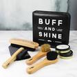 Lisa Angel Dapper Chap Shoe Buff & Shine Kit