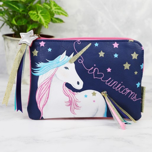 77df3284028f House of Disaster Candy Pop Unicorn Zip Purse