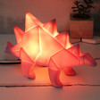 Lisa Angel Kids House of Disaster Stegosaurus Dinosaur Night Light