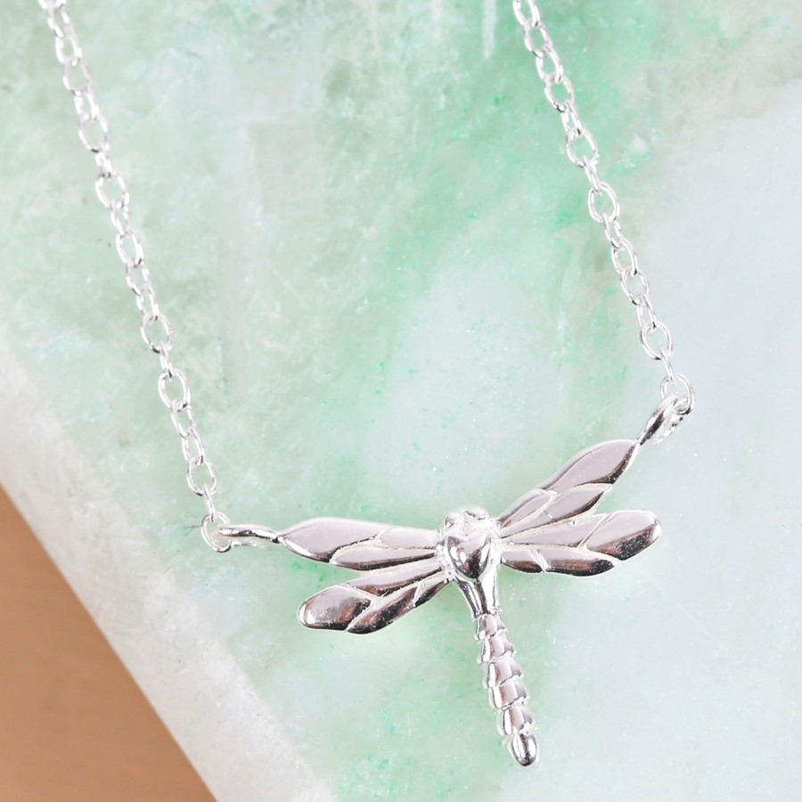 silver with products anne necklace swarovski koplik filigree dragonfly antique pendant crystal plated ak