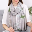 Lisa Angel Soft Illustrated London Map Scarf