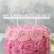 Lisa Angel Handmade 'Mr & Mrs' Acrylic Wedding Cake Topper