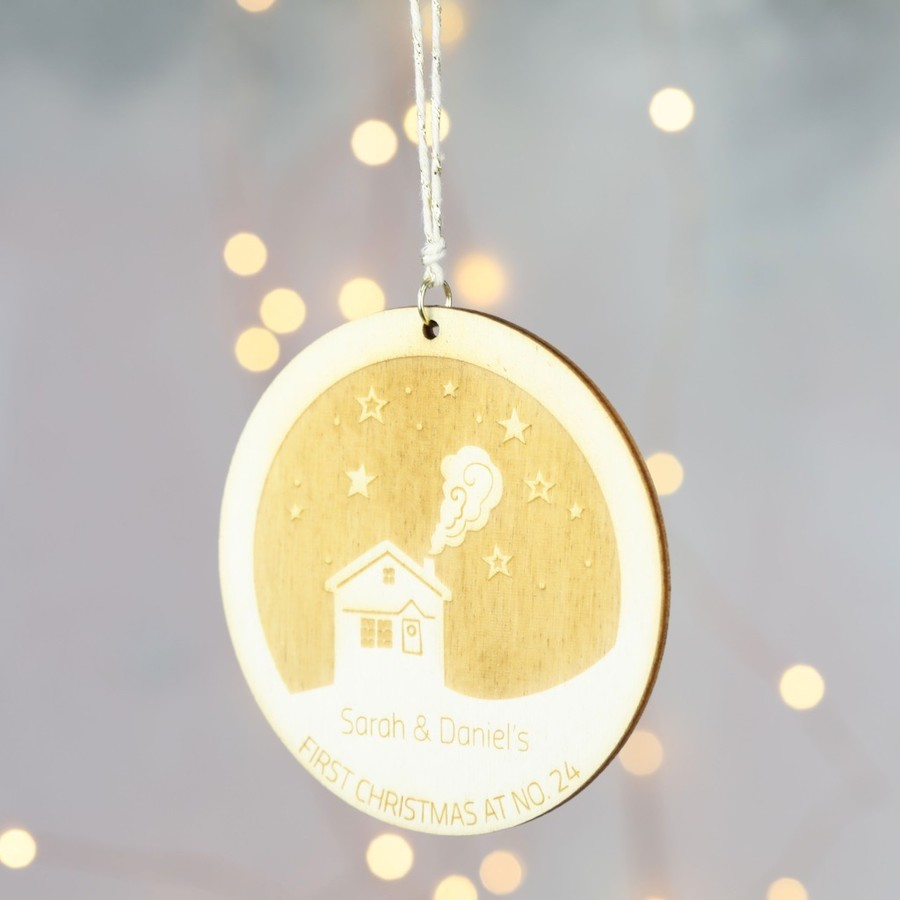 First Christmas House Hanging Decoration | Lisa Angel