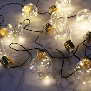 Lightbulb String Lights