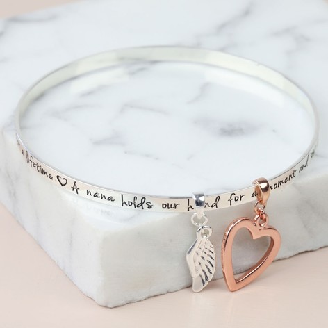 hurleyburley by sterling charm bangles personalised silver disc bangle product original