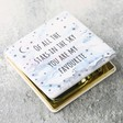 Lisa Angel Ladies' Starry Nights 'Of All the Stars' Compact Mirror