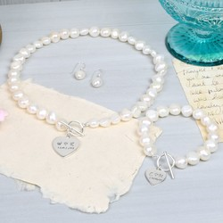 Large Nugget Pearl 'Memories' Jewellery Set